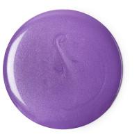 Cremiges, violettes Duschgel