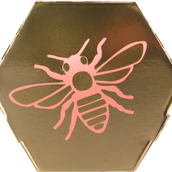 The side view of the Honey gift box