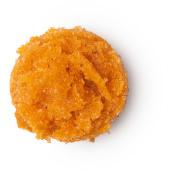 carrot cake é um esfoliante labial com aroma a xarope de acer