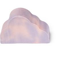 Hellviolette Seife in der Form einer Wolke