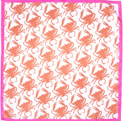 crab themed valentines day knot wrap