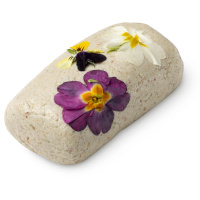 angels on bare skin fresh skin cleanser roll with flowers pressed in