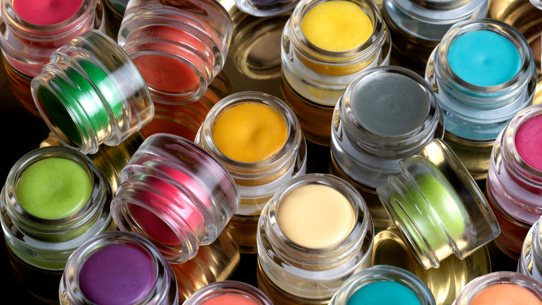 A selection of solid perfumes