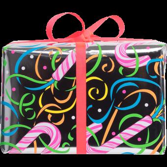 side christmas candy box gift