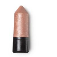 Pipit glow stick é um dos iluminadores vegan com um tom rosa dourado com óleos de argão, coco e jojoba para nutrir a pele