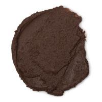 Cupcake mascarilla facial fresca de color café