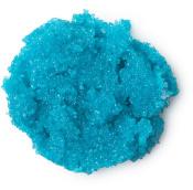 Ein blaues Zuckerpeeling für die Lippen