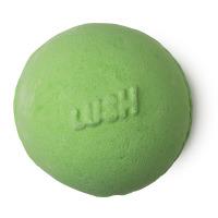 Avobath grüne Badebombe mit dem Duft von Zitronengras und Bergamotte