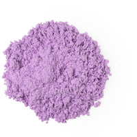 light purple dusting powder