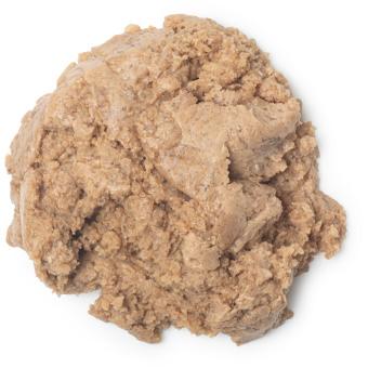 Cookie dough é um esfoliante de duche docinho de baunilha e cacau em pó