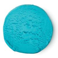 Blå modelera att leka med i badet