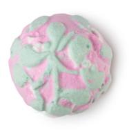 Mistletoe bath bomb