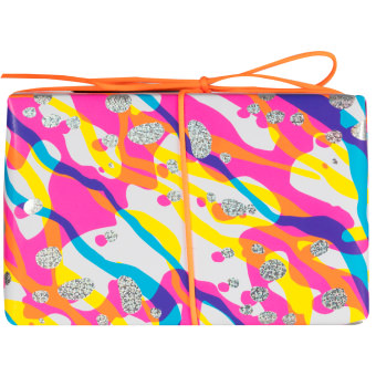 The side view of the Bath Art gift box