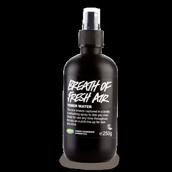 Confezione del Tonico viso rinfrescante senza alcool alghe marine e acqua sorgiva Breath of fresh air (Acqua di Vita)