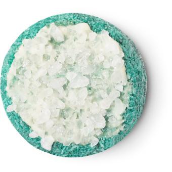 Blauer Shampoobar mit weißer Mitte