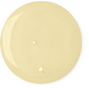 En klick av gul duschgel