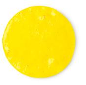 a yellow shower gel