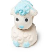 Lamb Bomb Bomb - Bomba da bagno a forma di agnellino in edizione limitata di Pasqua | Con menta piperita e olio essenziale di cacao