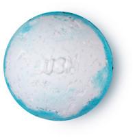 Blauw met witte Big Blue Bath Bomb