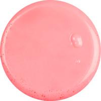 conga gelatina de ducha de color rosa con zumo de frambuesa