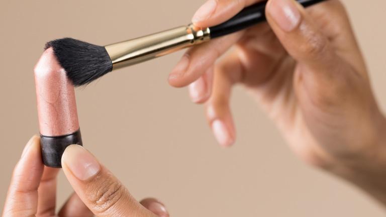 Lush glow make-up kwast