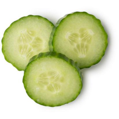 ingrédient lush - pulpe de concombre frais