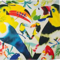 toucan love knot wrap