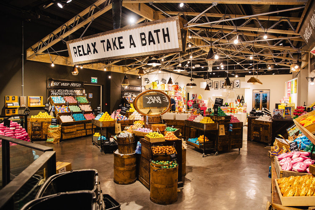 welcome to lush oxford street
