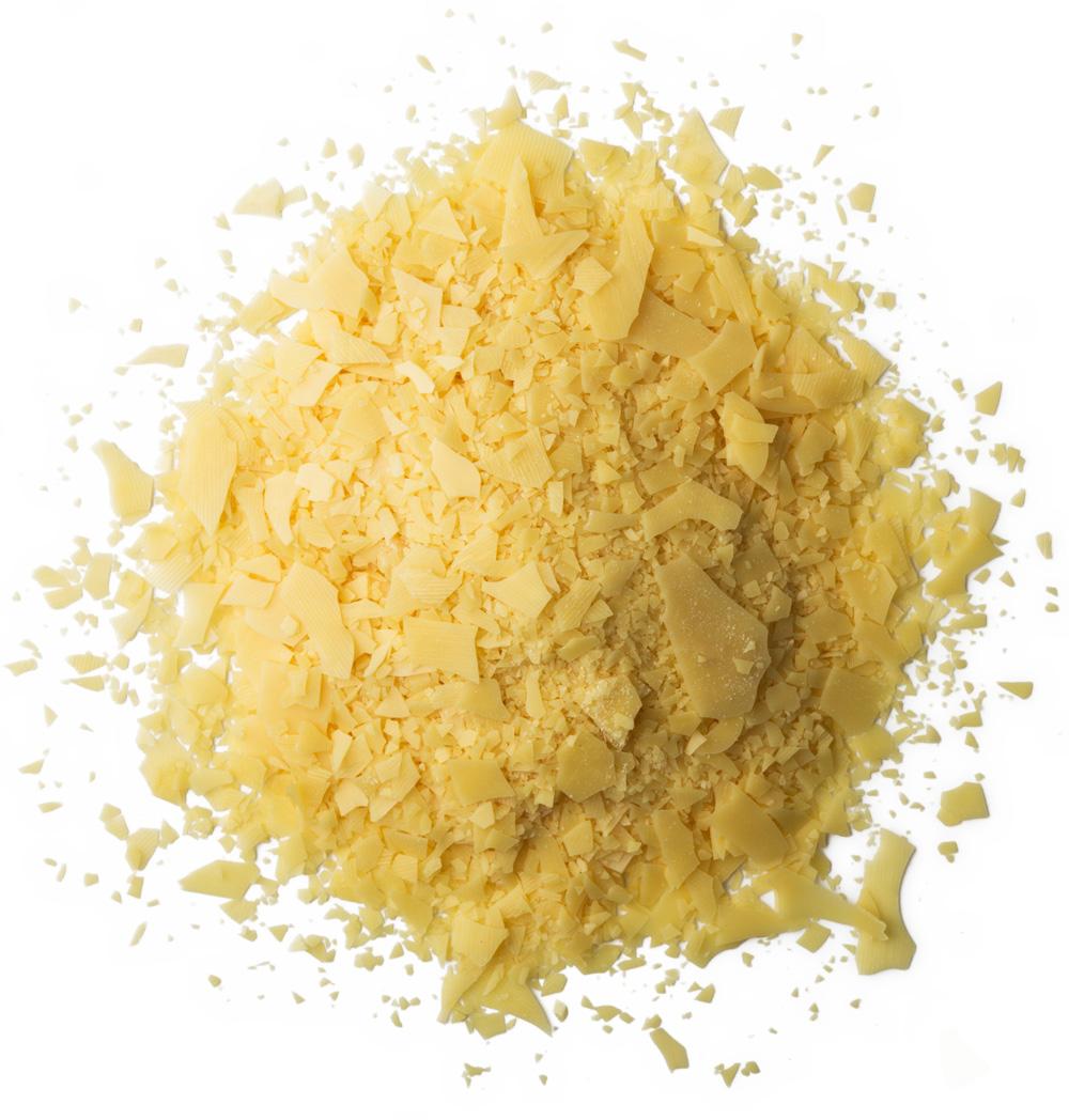 Carnauba wax flakes