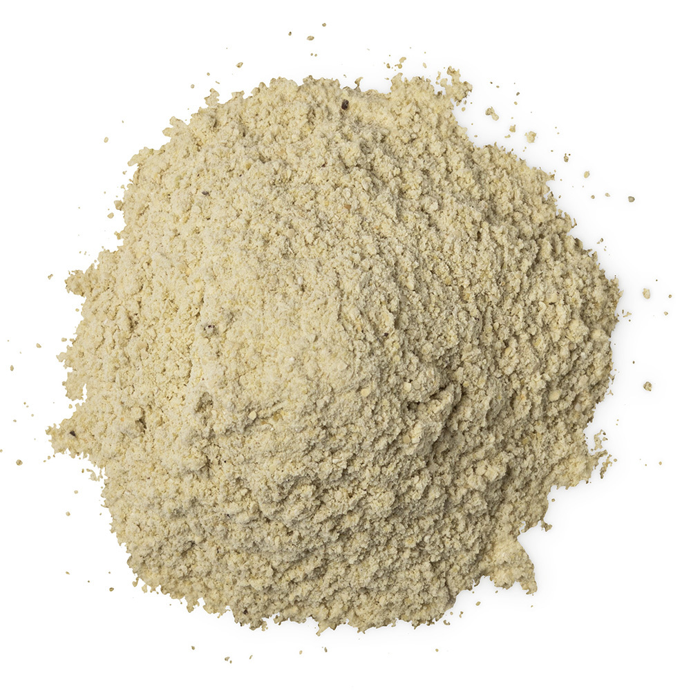 Pea husk powder