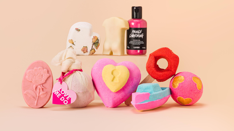alla hjärtans dag 2021 produkter från Lush