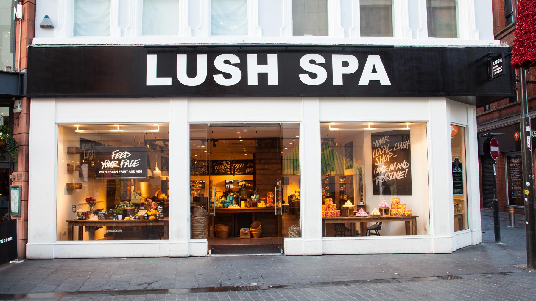 Lush Cosmetics Uk - Image to u