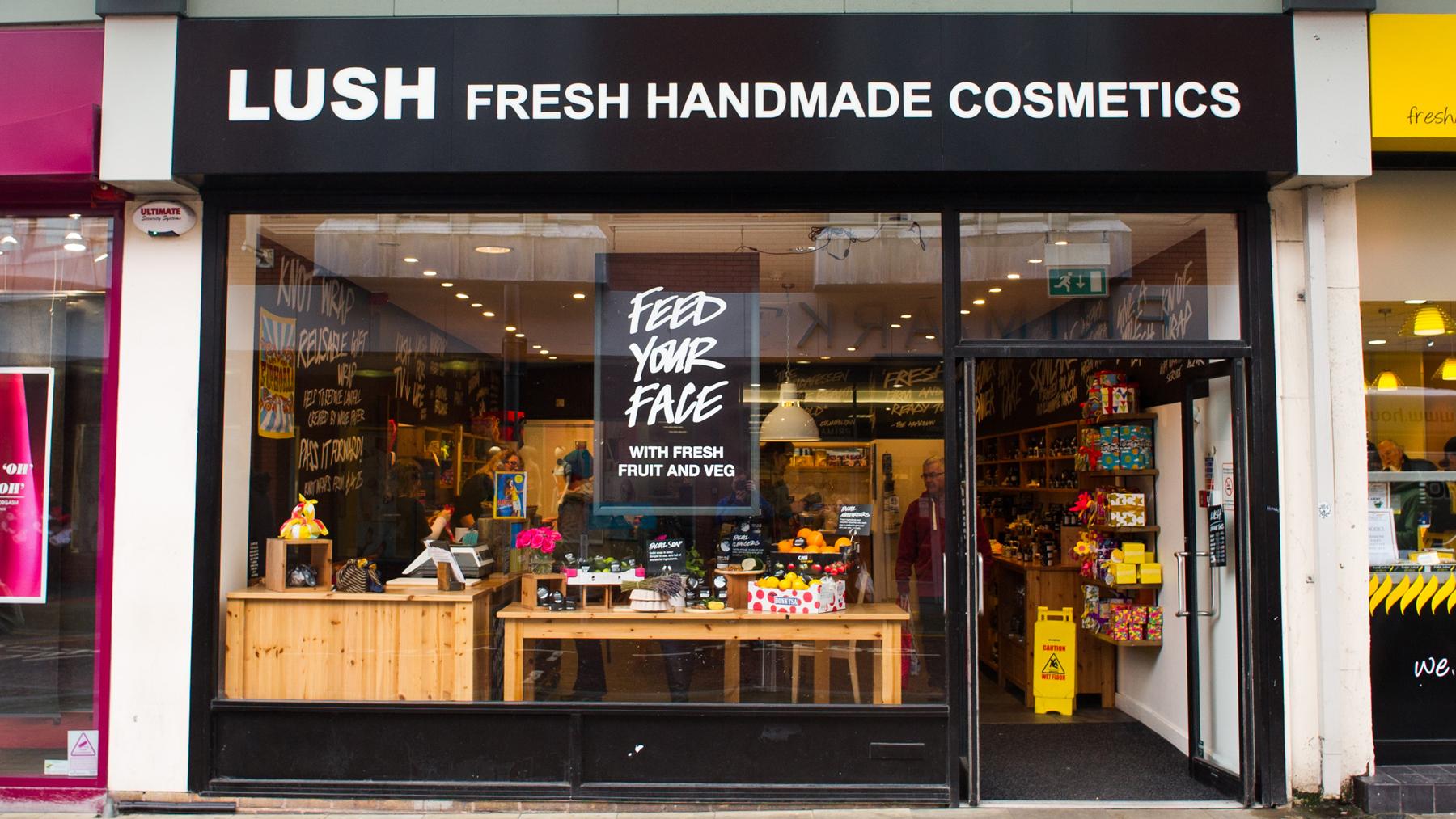Swansea | Lush Fresh Handmade Cosmetics UK