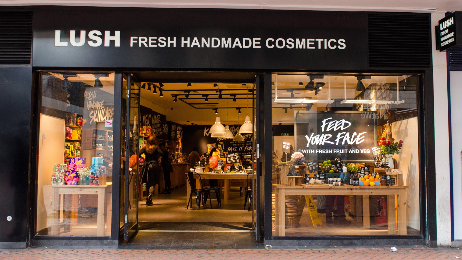 Birmingham Lush Fresh Handmade Cosmetics Uk