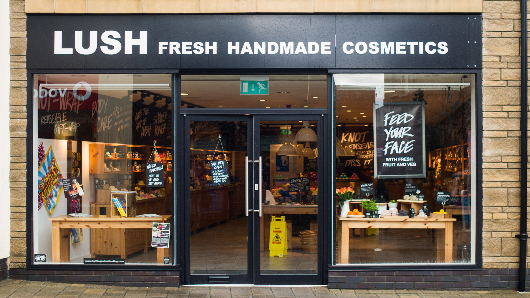 Carmarthen Lush Fresh Handmade Cosmetics Uk