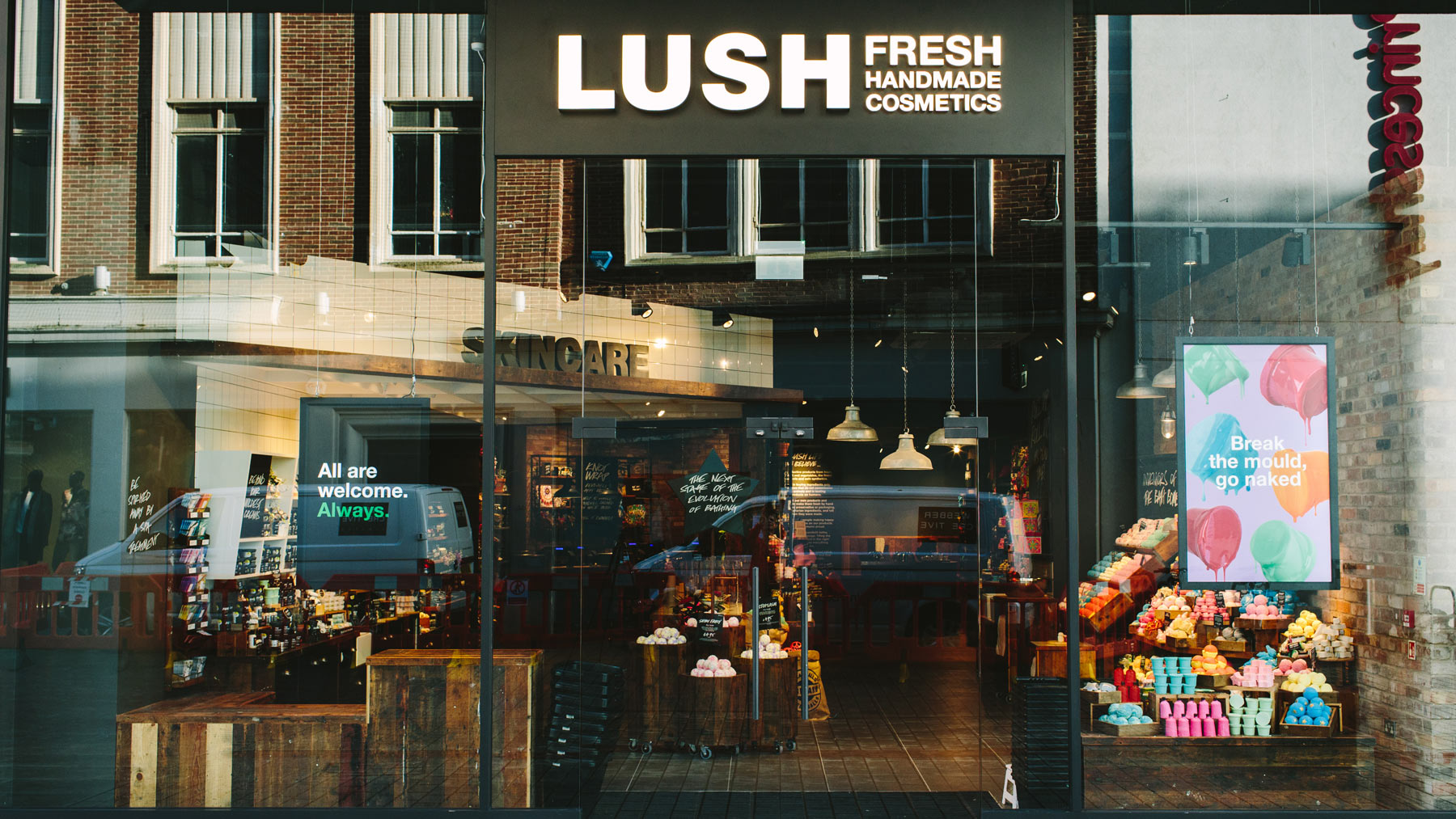 Exeter Lush Fresh Handmade Cosmetics Uk