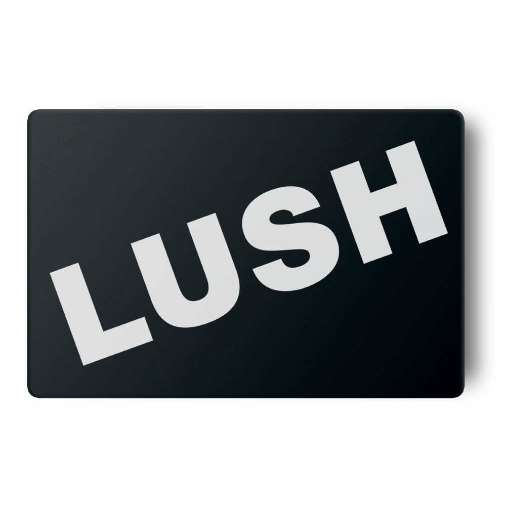 graphic relating to Lush Printable Coupons titled Present Card - Black -Reward Playing cards Lush Clean Home made