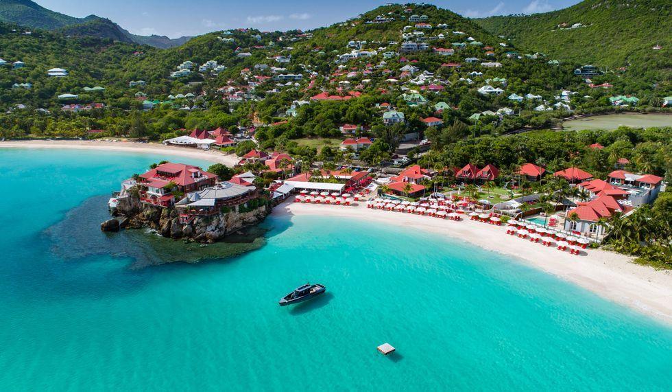 Best Island Beaches For Partying Mykonos St Barts: » Eden Rock