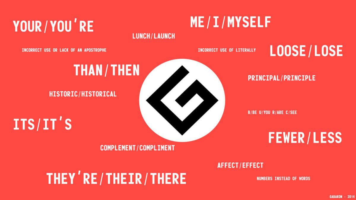 Grammar Nazi Lutalica