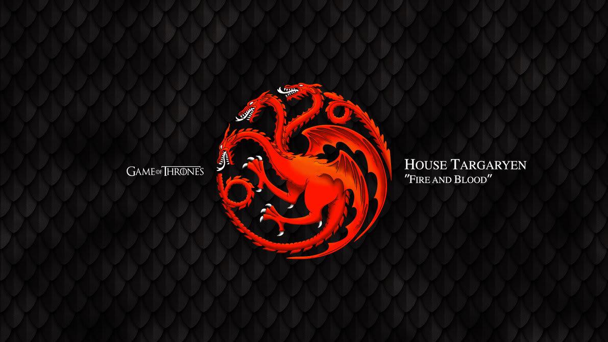 Mid-Week M.E.L.A: Game of Thrones - House Targaryen | Lutalica
