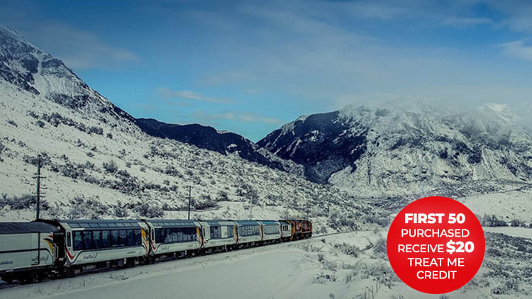 TranzAlpine Return Rail Trip incl. 1 or 2 Nights' Accomm at Kingsgate Hotel or Holiday House + an Activity Tour or Vehicle Hire Gold Coast NZ Tours Ltd Greymouth