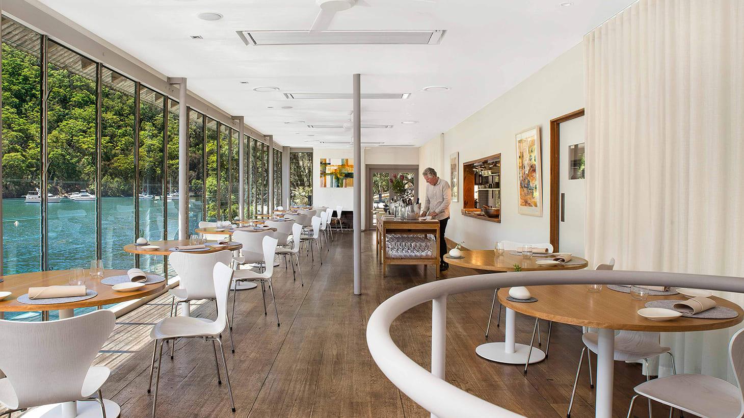 Five-Dish Waterside Lunch or Dinner at the Iconic Chef-Hatted Berowra Waters Inn Berowra Waters Inn Berowra