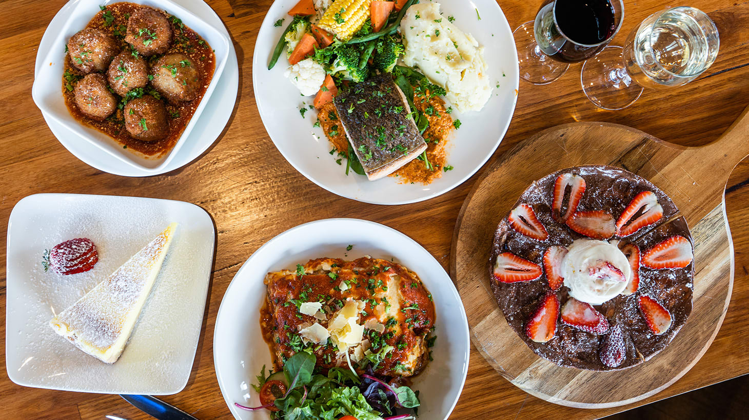 Three-Course Italian Meal with Wine or Beer  - Barkly's Kitchen