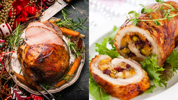Christmas Ham & Turkey Roll Packages, Pick Up Elfin Foods Ltd. Glenfield, Ellerslie, Hamilton, Tauranga, Mt. Albert
