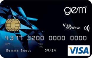 Gem Visa Card