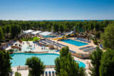 The water park of the La Yole Wine Resort campsite (Valras Plage)