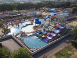 The water slides from campsite Le Trianon