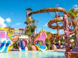 Parc aquatique du camping Cap Soleil (Vias)