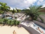 Extension du parc aquatique au camping Le Domaine de la Rive