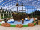 Une nouvelle pataugeoire de 350 m² au camping Les Alicourts Resort